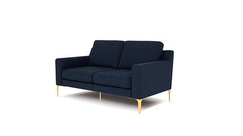 Normod 2 Seater - Dark Blue, Gold