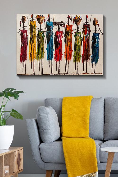 Kanvas Tablo (70 x 100) - 125