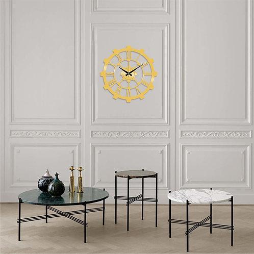 Metal Wall Clock 16 - Gold