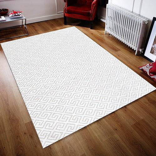 Wooly 901 - White (160 x 230)