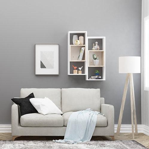 Kamelya 2 - White, Oak