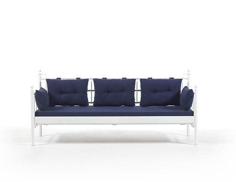 Lalas DKS - White, Dark Blue (70 x 200)