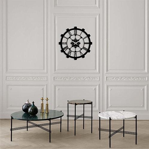 Metal Wall Clock 16 - Black