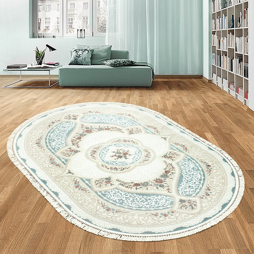 4310A Oval - Turquoise
