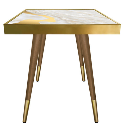 Gold Marble - Square