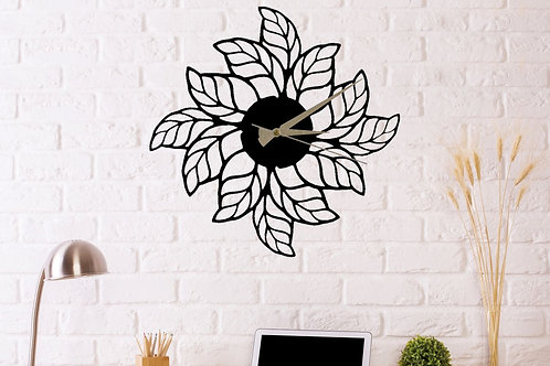 Glozis Leaves Clock