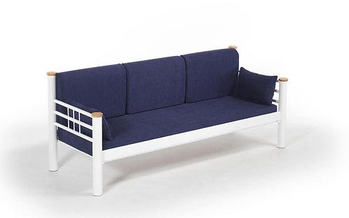 Kappis - White, Dark Blue (90 x 140)