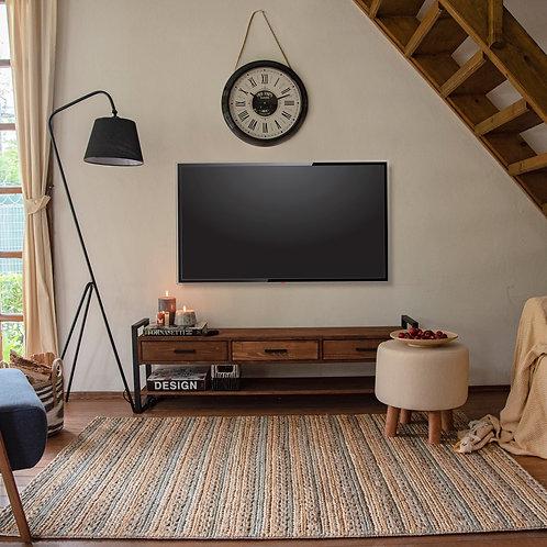 Just Home Wooddy 3 cekmeceli Masif Tv unitesi