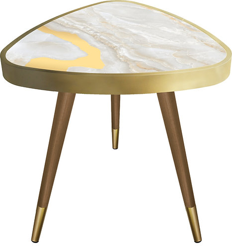 Golden Marble - Triangle