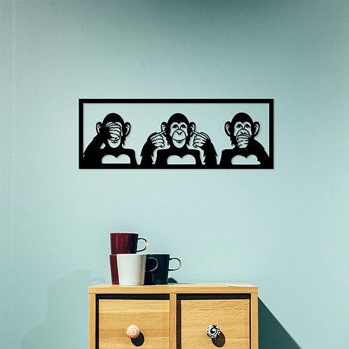 Three Monkeys - M