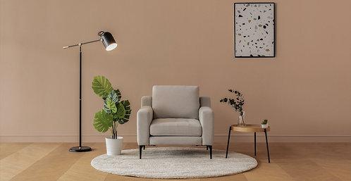 Normod Armchair - Beige, Black