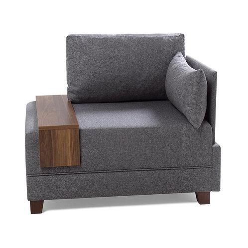 Fly Armchair Right - Grey