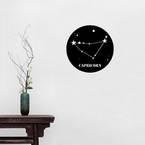Capricorn Horoscope - Black
