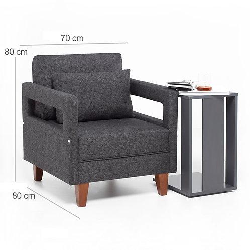 Comfort Armchair - Grey