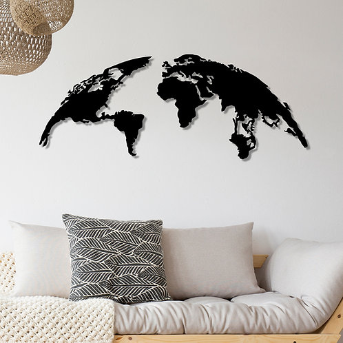 World Map Large