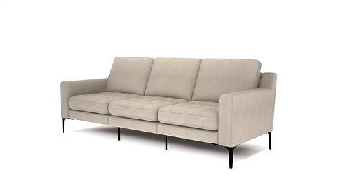 Normod 3 Seater - Beige, Black