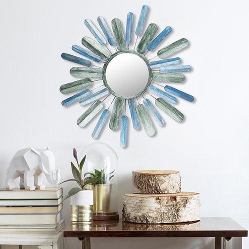 Metal Art Mirror Sun