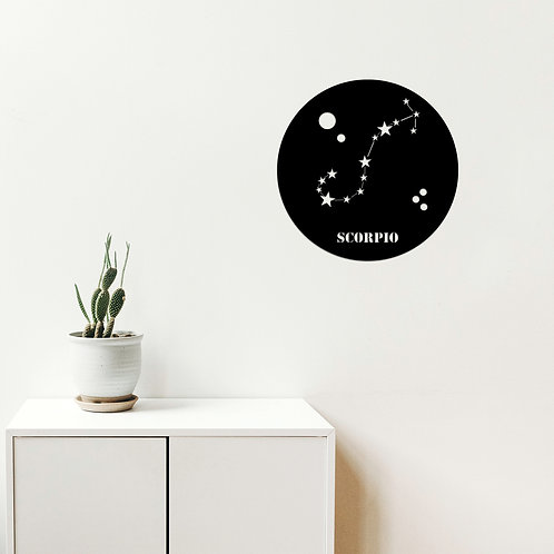 Scorrp�o Horoscope - Black