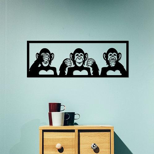 Three Monkeys - L