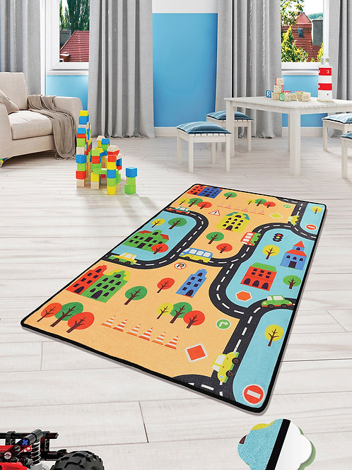 Road - Colourful (100 x 160)