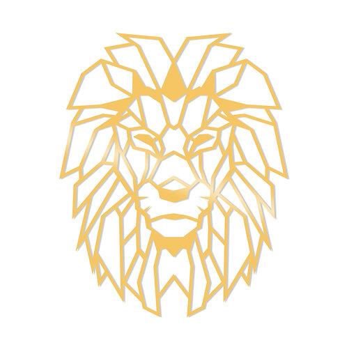 Lion Metal Decor - Gold