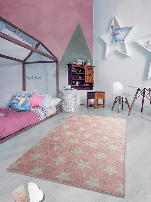 Yıldız - Pink (100 x 160)