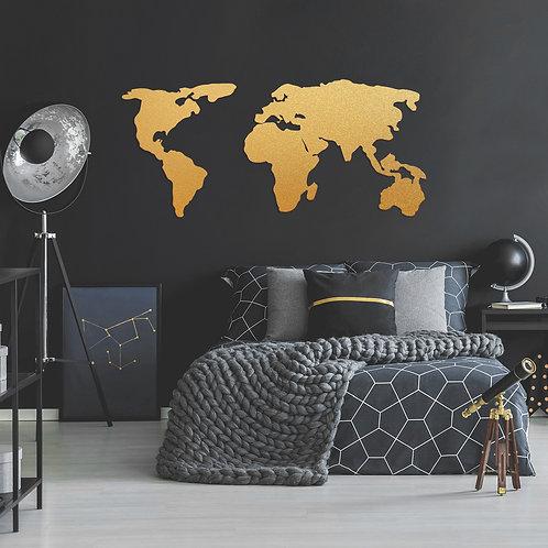 World Map 2 - Gold