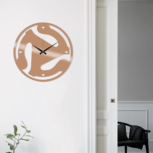 Metal Wall Clock 5 - Copper