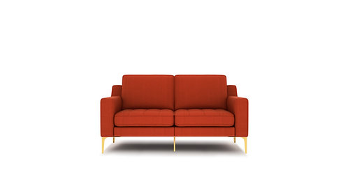 Normod 2 Seater - Red, Gold