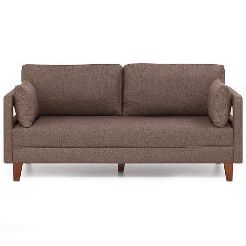 Comfort Sofa For 2 Pr - Brown