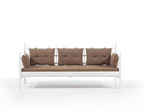 Lalas DKS - White, Brown (70 x 200)