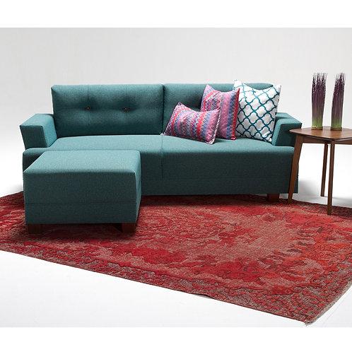 Balzan Corner Sofa - Turquoise