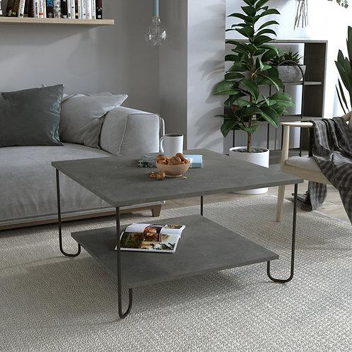 Marbo Coffee Table - Retro Grey