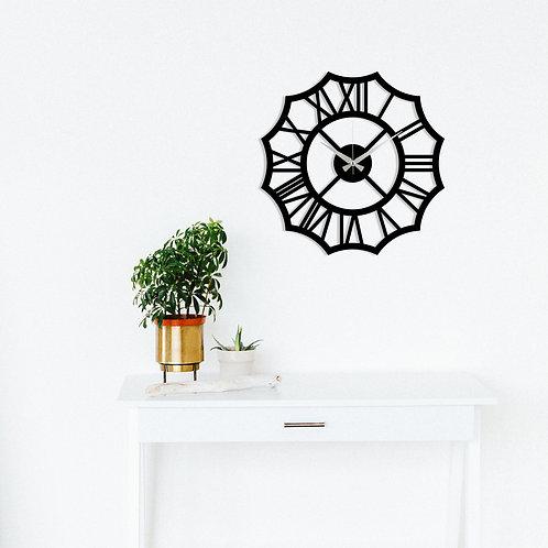 Metal Wall Clock 23 - Black