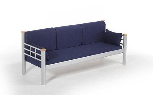 Kappis - Grey, Dark Blue (90 x 140)
