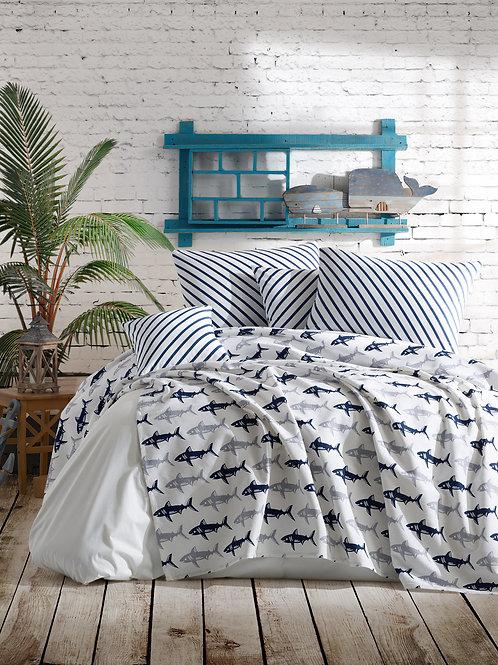 Shark - Dark Blue, White
