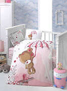 Baby Quilt Cover Set - Daisy Children