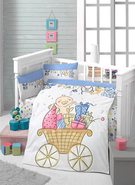 Baby Quilt Cover Set Collection - Daisy Children