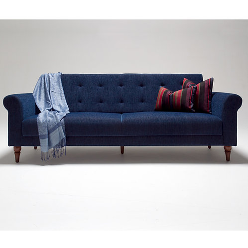 Madona Sofa Bed - Dark Blue