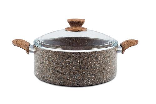 Stonelife - Brown - Derin Tencere 20 Cm