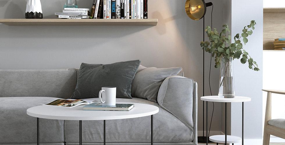 Corro Coffee Table - White