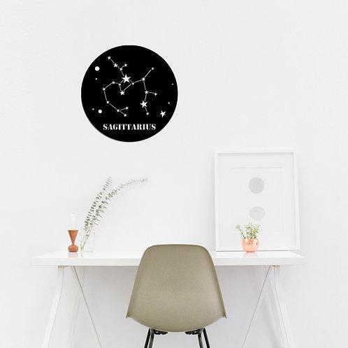 Sag�ttar�us Horoscope - Black