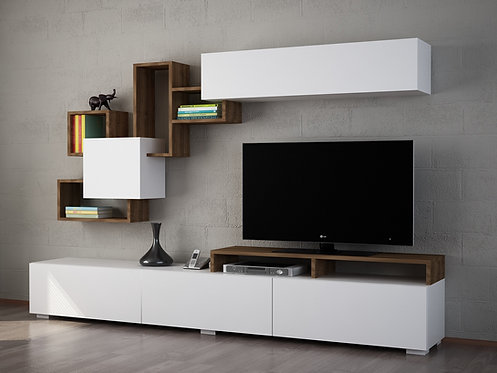 Elit - White, Walnut