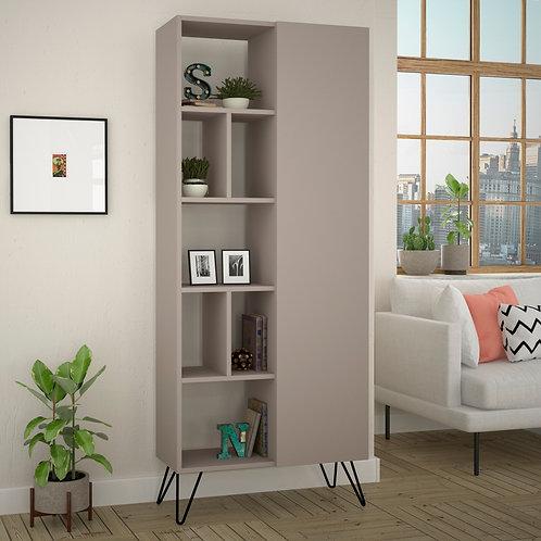Jedda Bookcase - Light Mocha