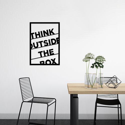 Think Outside The Box - Black