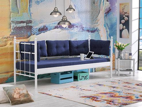 Lalas - White, Dark Blue (70 x 200)