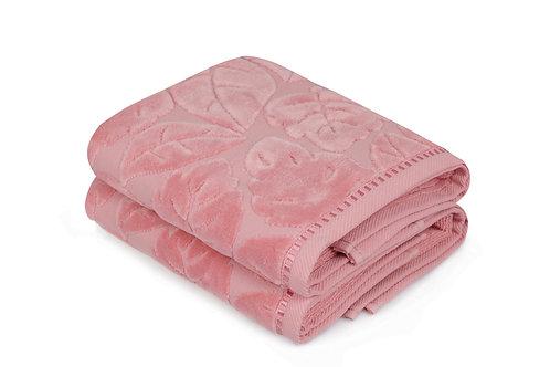 Kismi Kadife Yaprak - Pink