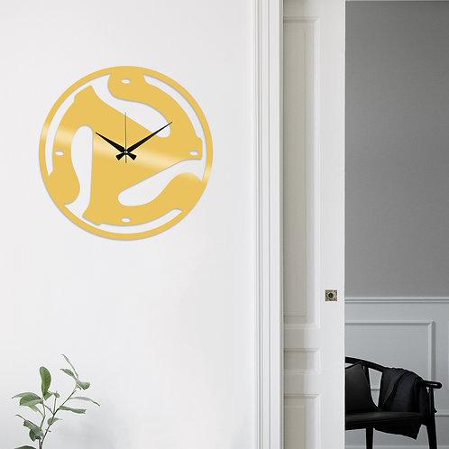 Metal Wall Clock 5 - Gold