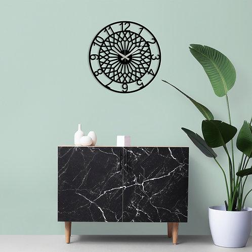 Metal Wall Clock 31 - Black