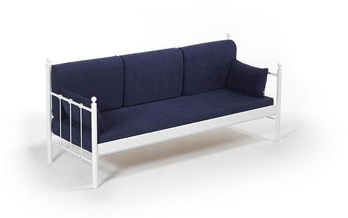 Lalas DK - White, Dark Blue (70 x 200)